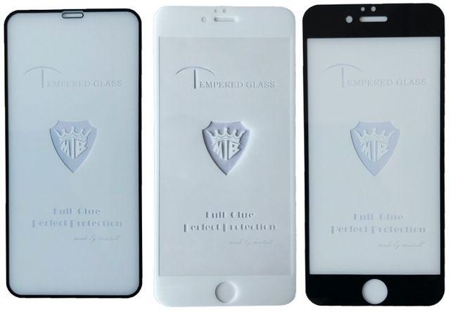 Защитное стекло iPhone оптом.Полный клей.Высокое качество
