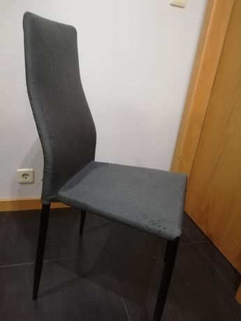 Cadeiras cinza Conforama