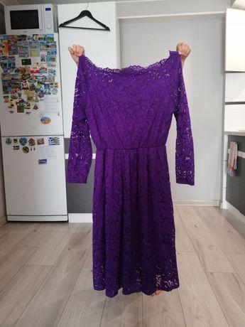 Sukienka koronkowa M/L