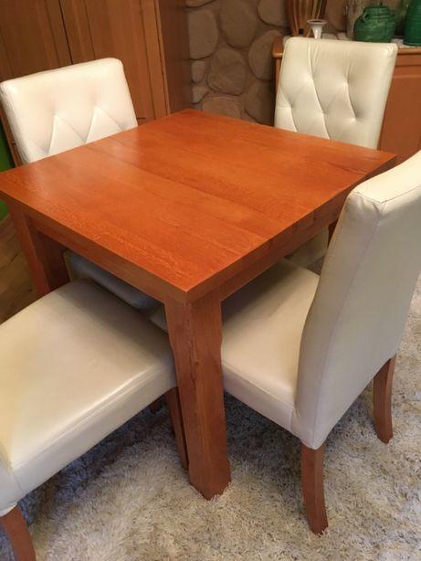 Stół drewniany, lita olcha