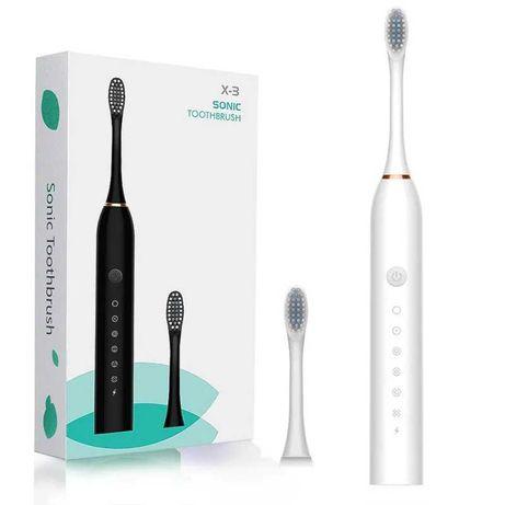Электрическая зубная щетка X3 SONIC Toothbrush , цвет белый