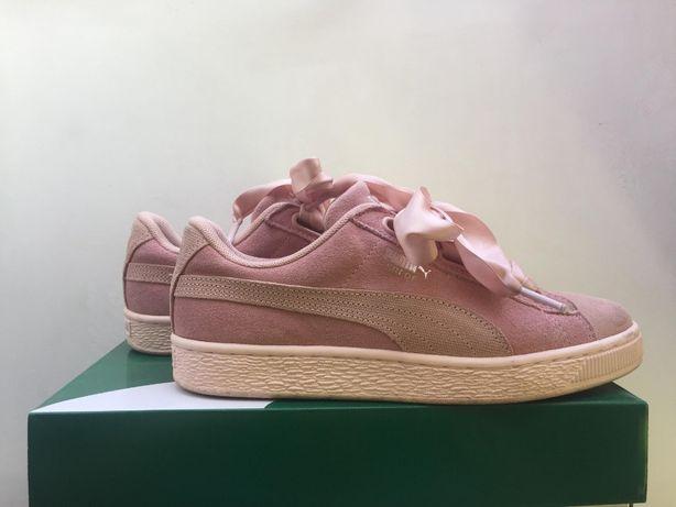 Puma Sneakers Suede Heart Pebble rozm. 37,5 - wkładka 23,5 cm
