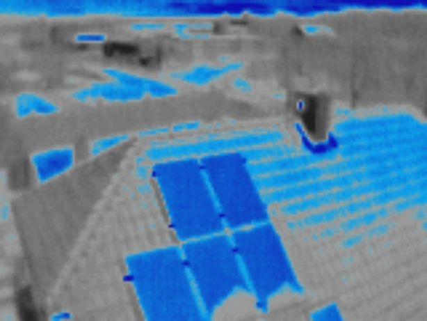 Termowizja instalacji fotowoltaicznych wynajem kamer dron termowizyjny