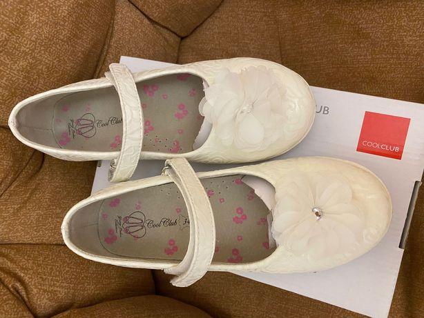 Нарядные туфельки для девочки (34 размер)