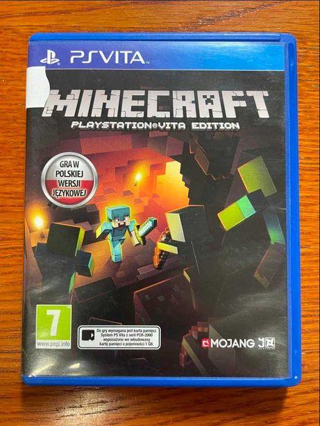 MineCraft VITA PSP polska werjsja PL