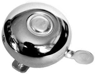 Dzwonek rowerowy BELL 42 S o średnicy 56 mm kolor srebrny