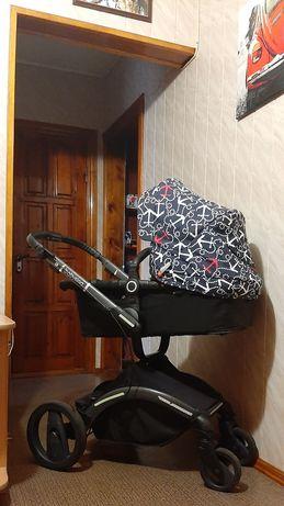 Детская коляска универсальная зима/лето 2 в 1 Babysing
