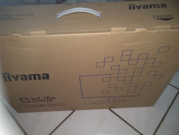 Iiyama X2474HS-B2 FullHD,75Hz VGA,HDMI, DisplayPort, 4ms, новий