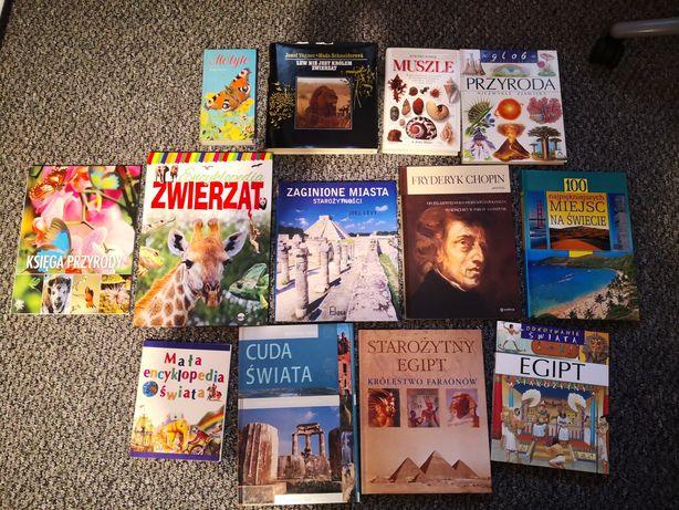 Książki różne słowniki, literatura, naukowe, przyrodnicze.