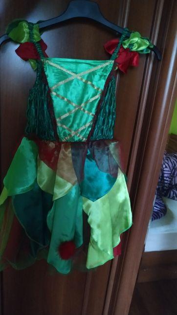 Sukienka karnawałowa, 4-7lat