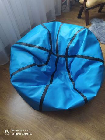 Pufa Piłka XXXXL 110 cm Worek Fotel Piłka Koszykowa Ecopuf