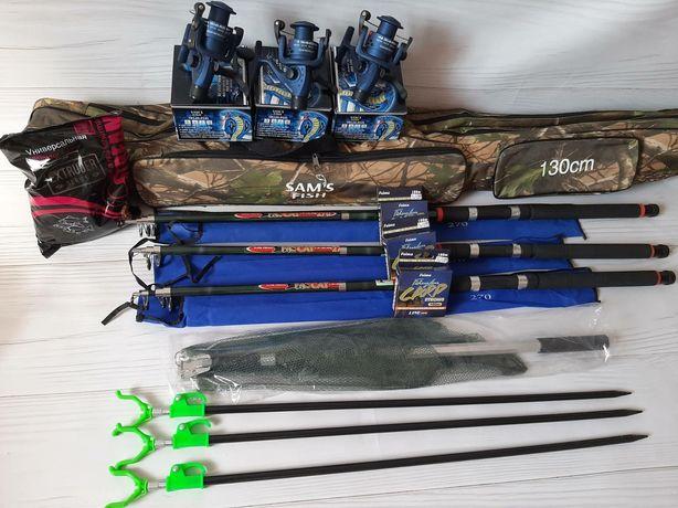 Готовый рыболовный набор