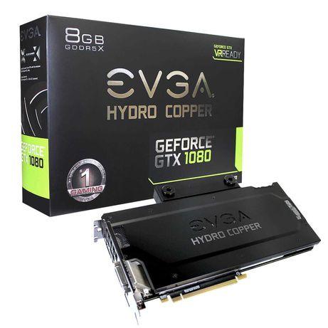 EVGA GTX 1080 HYDRO COPPER (P/N: 08G-P4-6299-KR)