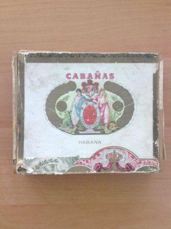 Коробка из-под кубинских сигар