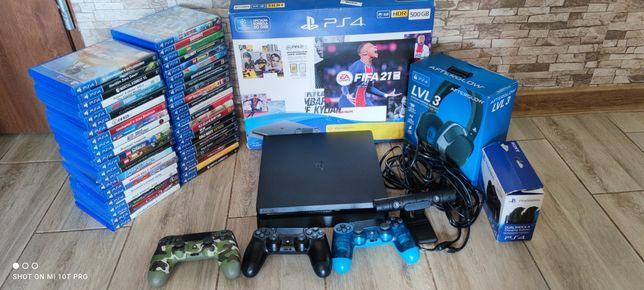 PS4 PlayStation 4 Slim Duzo Gier Kamera Zamiana Xbox one 360 Ps3 Pro 3