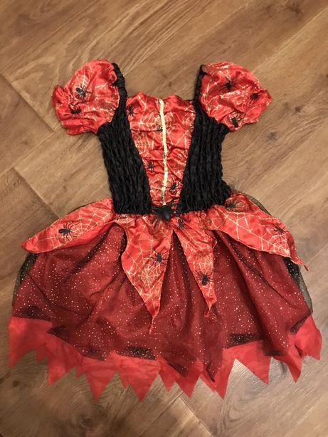 Карнавальное новогоднее платье костюм для девочки