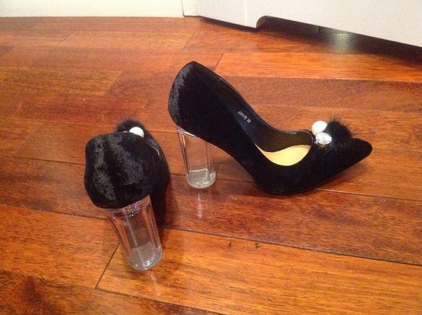 Buty damskie czarne Fendi Gucci !! Nowe