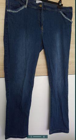 Spodnie jeans r 50