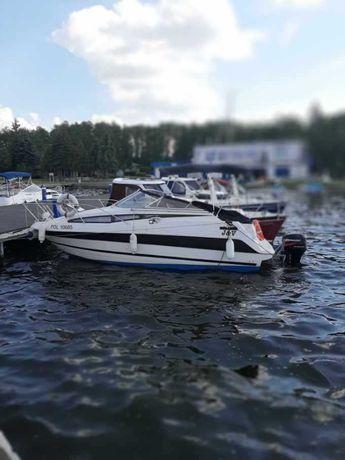 Łódka motorówka Bayliner 2355 Sierra + przyczepką do łódki.