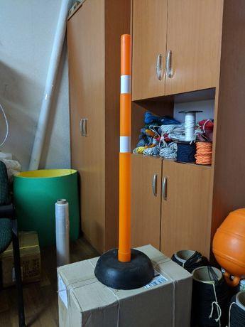 Дорожная веха фишка конус разметка конус 100 см