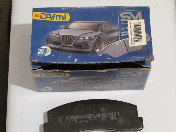 Колодки передние тормозные ВАЗ 2121, Dafmi SM (Д301СМ)