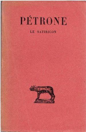 Pétrone - Le Satiricon
