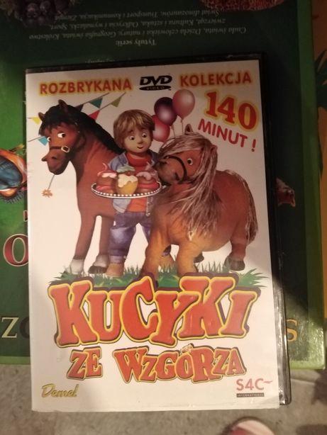 Bajki Traktorki cd 3szt o pociągach urodzinowy pociąg Kucyki że wzgorz