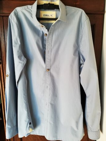 Camisa O'Neill Homem Slim Fit Azul Tamanho S
