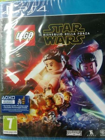 Lego Star Wars Przebudzenie Mocy PL nowa PS4