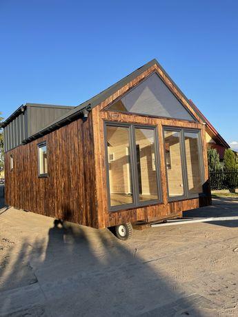 Domek mobilny dom letniskowy domek drewniany NESTHOLL