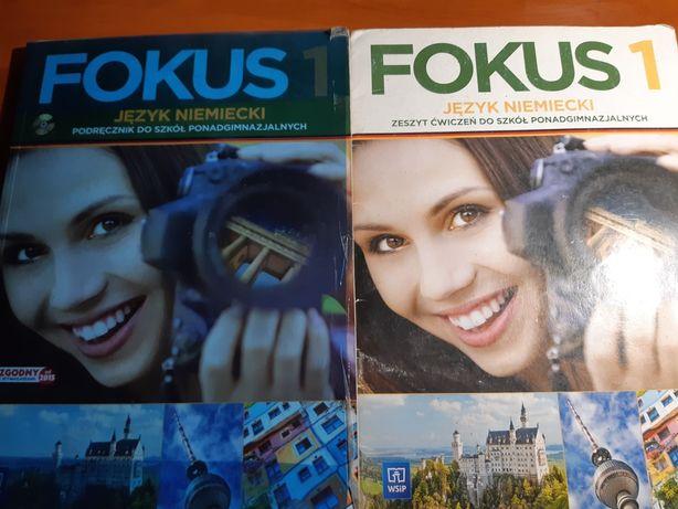 Fokus 1 podręcznik + gratis troche uzupełnione ćwiczenie