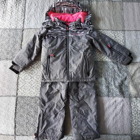 Komplet narciarski spodnie + kurtka Reserved 110 cm