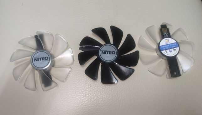 Ventilador cooler para sapphire Rx 470, 480, 570, 580, 590 e nitro