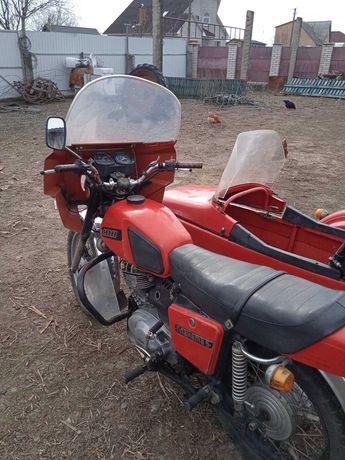 Продам мотоцикл Иж Планета 5 з коляскою  один власник