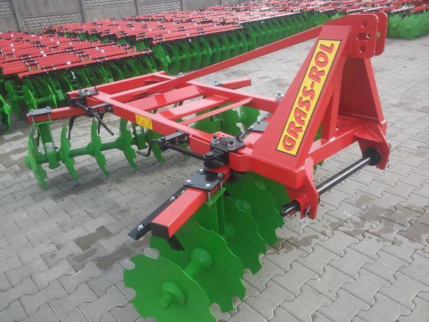 Brona talerzowa 1.8, 2.0, 2.2 m OSKAR - GRASS-ROL - korby, mocna