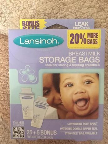 Продам Пакеты для хранения и замораживания грудного молока Lansinoh Br