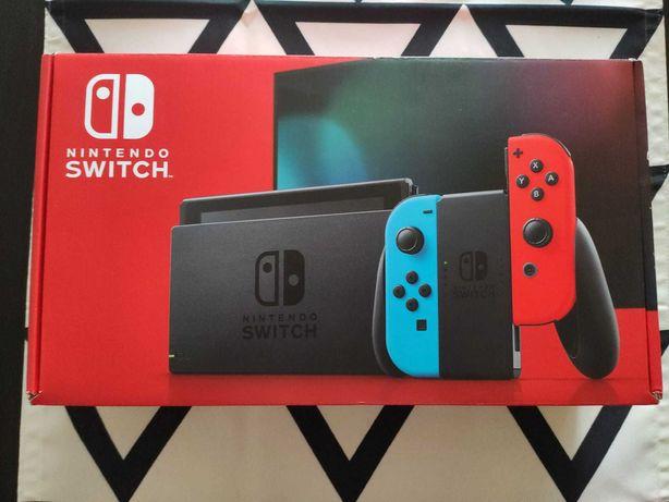 Nintendo Switch V2 com Zelda, Pokémon, Animal Crossing e Splatoon