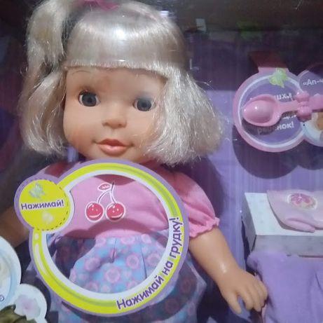 Кукла Мамино солнышко, сенсорная