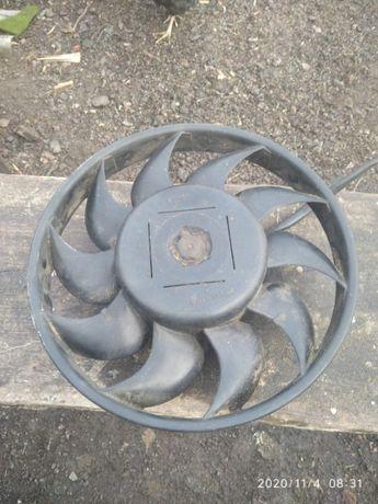 вентелятор радиатора ауди А8 D2