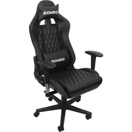 Хит Продаж! Игровое кресло Bonro 1018 Геймерское с подголовником Цвета