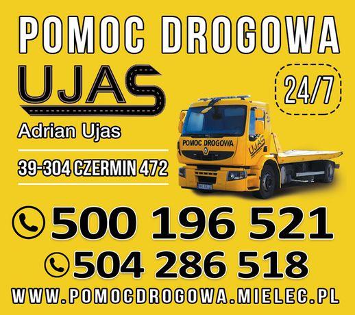 Pomoc Drogowa Laweta UJAS Mielec 24h/7