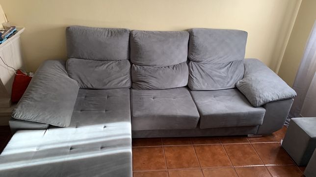Sofá chaise longue em otimo estado
