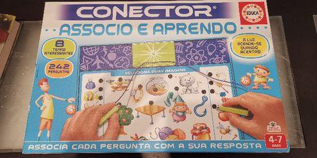 Jogo eletrónico CONECTOR novo 4-7 anos