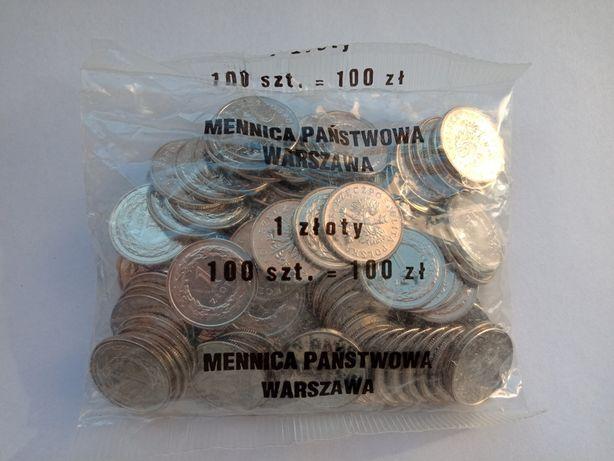 1 złoty 1994 rok woreczek menniczy 100 sztuk