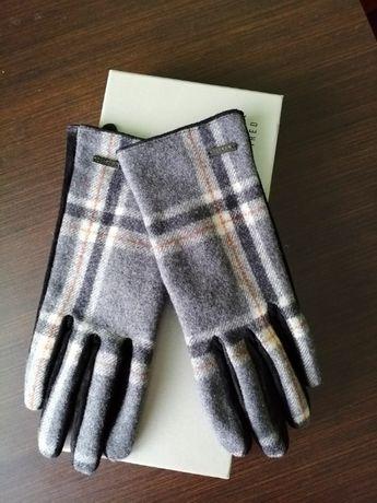 Rękawiczki Mohito skóra naturalna nowe kratka