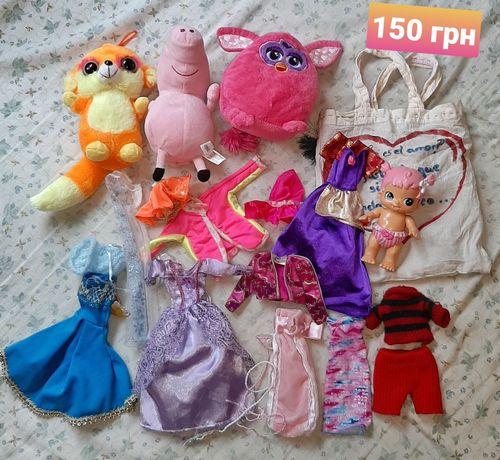 Іграшки, игрушки барби одежда свинка пеппа
