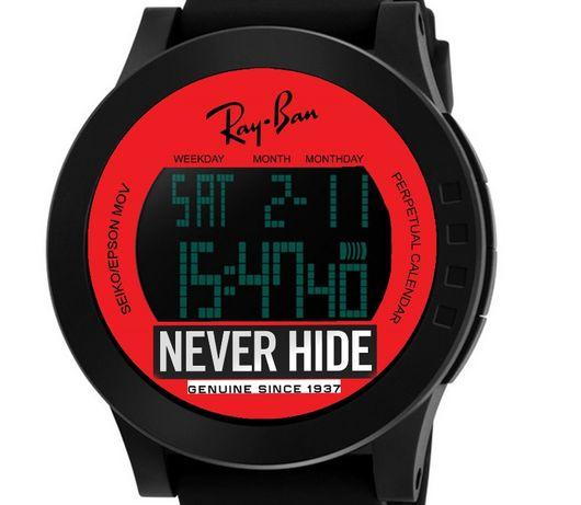 ray ban relogio digital 2140 rayban wayfarer clubmaster 3016 e red