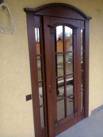 Двері міжкімнатні та сходи.