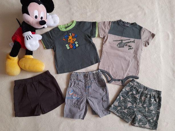 Zestaw ubrań dla chłopca 6-9 m-cy. Ubranka zakupione w US. Zestaw 12.