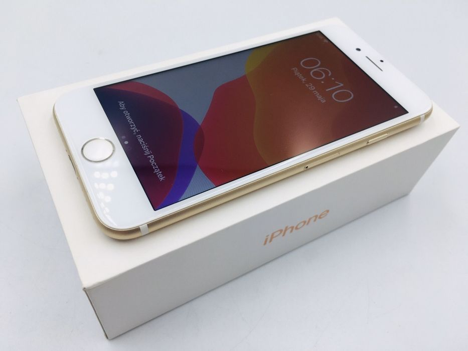 iPhone 7 32GB GOLD • NOWA bateria • GW 1 MSC • AppleCentrum Wrocław - image 1